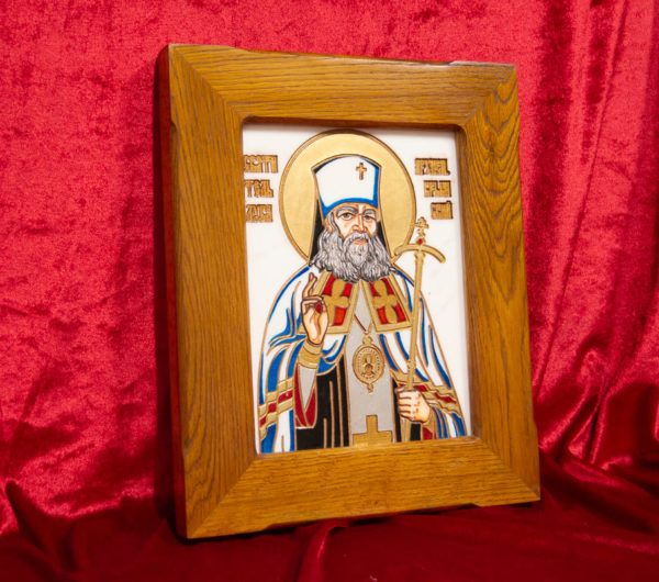 Икона Луки Крымского № 03 из мрамора, камня, каталог икон, фото 2
