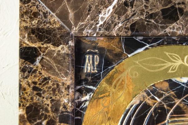 Икона Казанской Божией Матери № 3-12-9 из мрамора, камня, от Гливи, фото 5