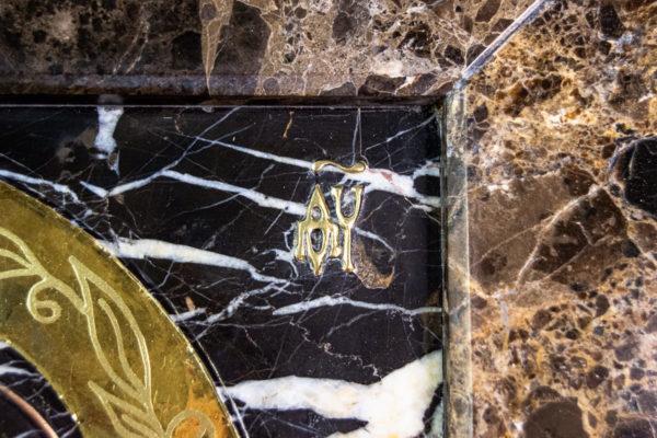 Икона Казанской Божией Матери № 3-12-9 из мрамора, камня, от Гливи, фото 7