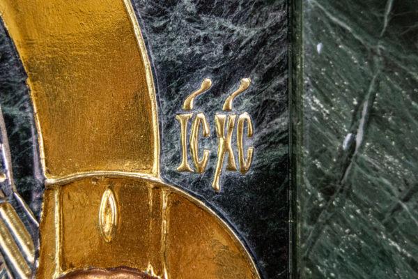 Икона Казанской Божией Матери № 4-12-3 из мрамора, камня, от Гливи, фото 17