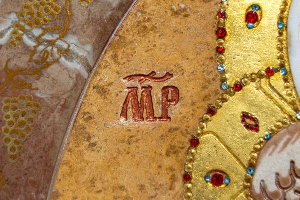 Икона Жировицкой (Жировичской) Божией Матери № 1.20-12 из мрамора, камня, изображение, фото 7