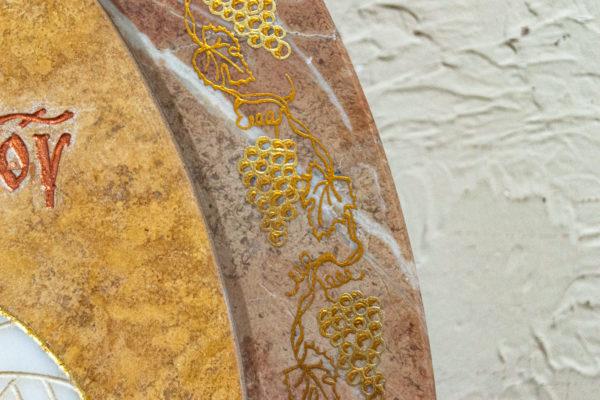 Икона Жировицкой (Жировичской) Божией Матери № 1.20-12 из мрамора, камня, изображение, фото 10