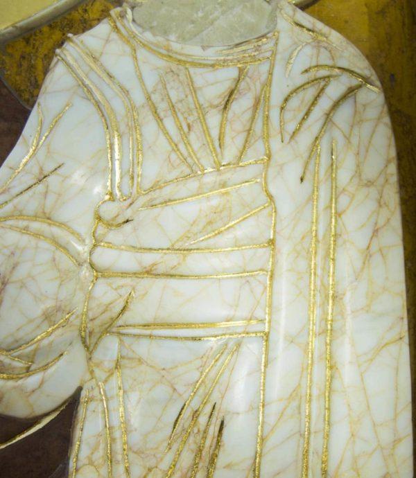 Икона Казанской Божией Матери (рельефная, храмовая) без № из мрамора, каталог икон, фото 5
