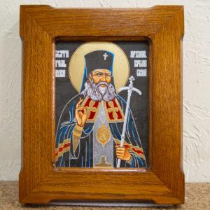 Икона Луки Крымского № 03 из мрамора, камня, каталог икон, фото 1