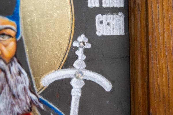 Икона Луки Крымского № 03 из мрамора, камня, каталог икон, фото 5