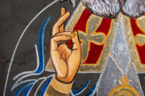 Икона Луки Крымского № 03 из мрамора, камня, каталог икон, фото 6