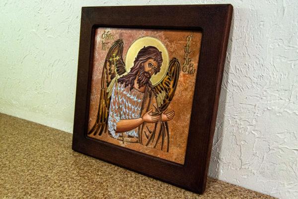 Икона Иоанна Крестителя (Иоанна Предтечи) № 01 из мрамора, магазин икон, изображение, фото 12