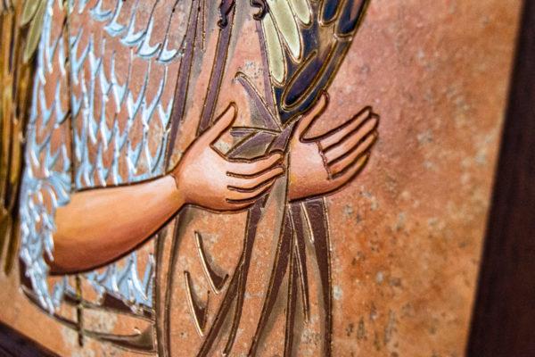 Икона Иоанна Крестителя (Иоанна Предтечи) № 01 из мрамора, магазин икон, изображение, фото 6