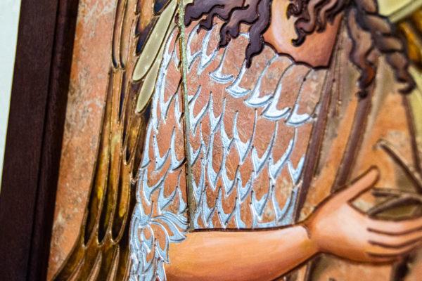 Икона Иоанна Крестителя (Иоанна Предтечи) № 01 из мрамора, магазин икон, изображение, фото 7