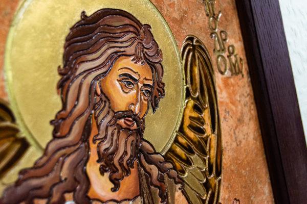 Икона Иоанна Крестителя (Иоанна Предтечи) № 01 из мрамора, магазин икон, изображение, фото 3
