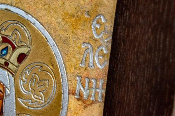 Икона Святой Елены № 01 из камня в Минске, каталог икон Гливи, фото 9