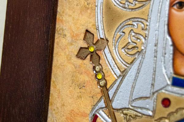 Икона Святой Елены № 01 из камня в Минске, каталог икон Гливи, фото 11