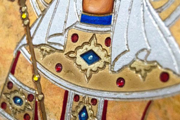 Икона Святой Елены № 01 из камня в Минске, каталог икон Гливи, фото 12