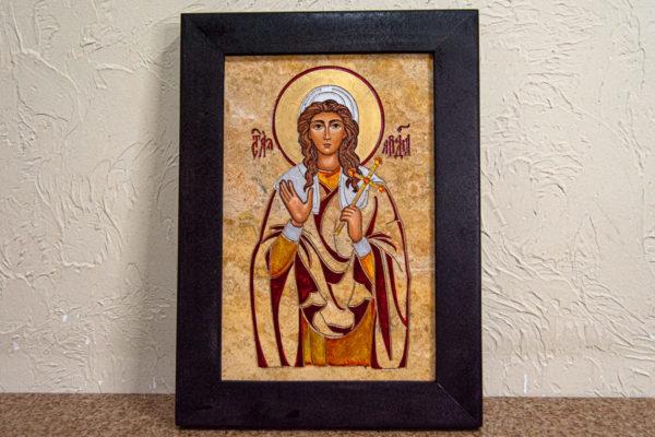 Икона Святой Ариадны № 01 из мрамора, интернет магазин икон, изображение, фото 10