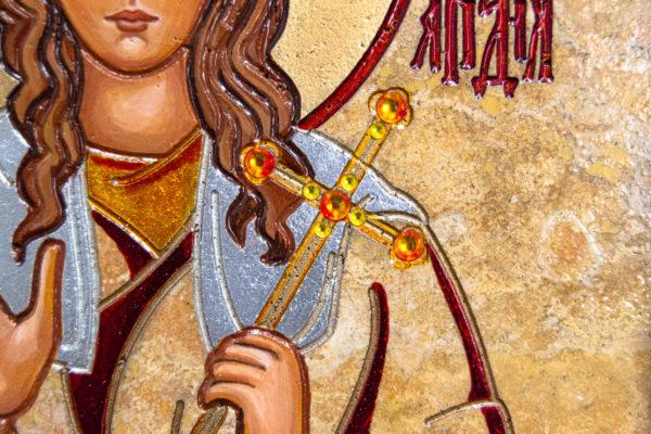Икона Святой Ариадны № 01 из мрамора, интернет магазин икон, изображение, фото 6