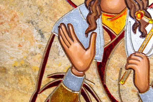 Икона Святой Ариадны № 01 из мрамора, интернет магазин икон, изображение, фото 1