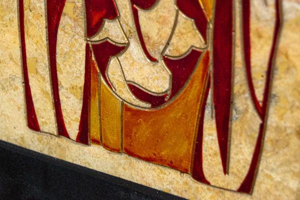 Икона Святой Ариадны № 01 из мрамора, интернет магазин икон, изображение, фото 3