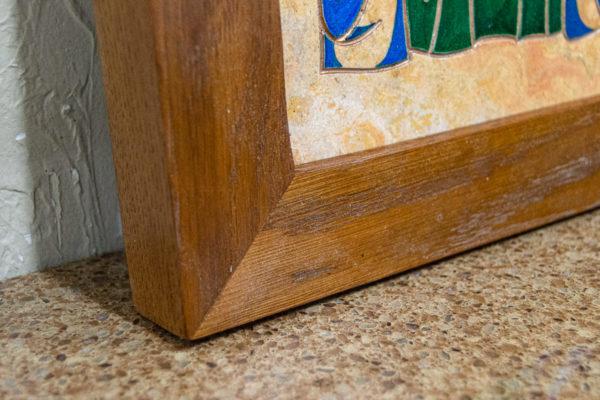 Икона Святой Дарьи Римской № 01 из мрамора, интернет магазин икон, изображение, фото 10