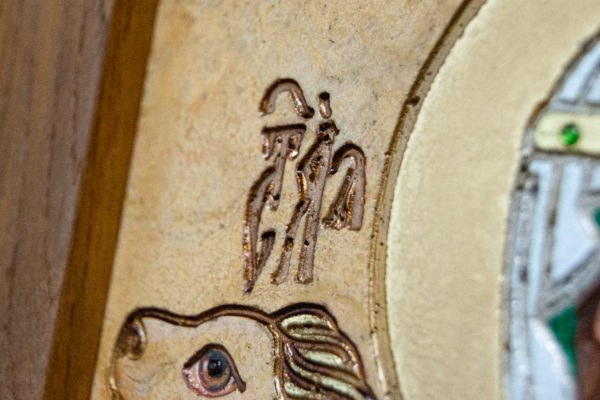 Икона Святой Дарьи Римской № 01 из мрамора, интернет магазин икон, изображение, фото 11