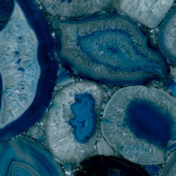 Натуральный камень, Полудрагоценный камень Blue Agate, фото 1