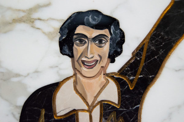 Каменная Картина Оммаж духовному дому отца Шагала № 01, изображение, фото 1