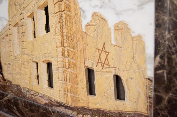 Каменная Картина Оммаж духовному дому отца Шагала № 01, изображение, фото 6