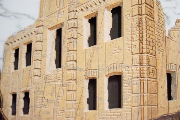Каменная Картина Оммаж духовному дому отца Шагала № 01, изображение, фото 9