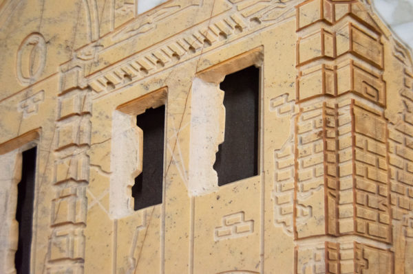 Каменная Картина Оммаж духовному дому отца Шагала № 01, изображение, фото 10