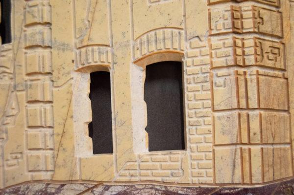 Каменная Картина Оммаж духовному дому отца Шагала № 01, изображение, фото 11