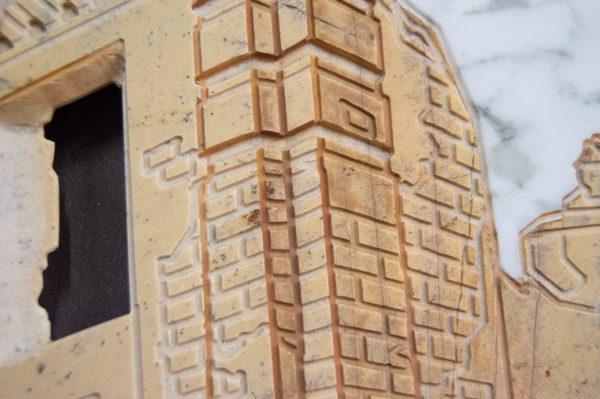 Каменная Картина Оммаж духовному дому отца Шагала № 01, изображение, фото 14