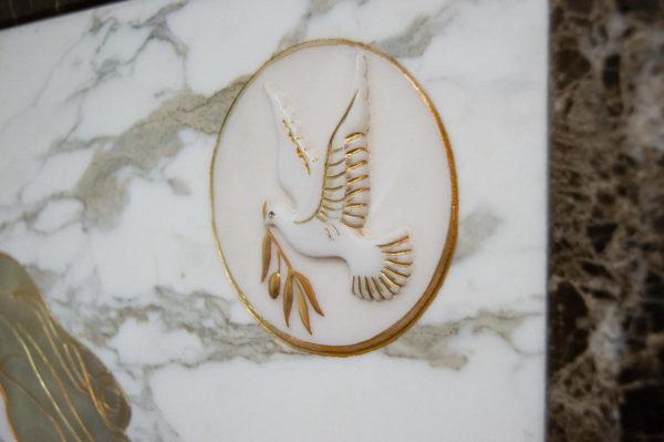 Каменная Картина Оммаж духовному дому отца Шагала № 01, изображение, фото 17