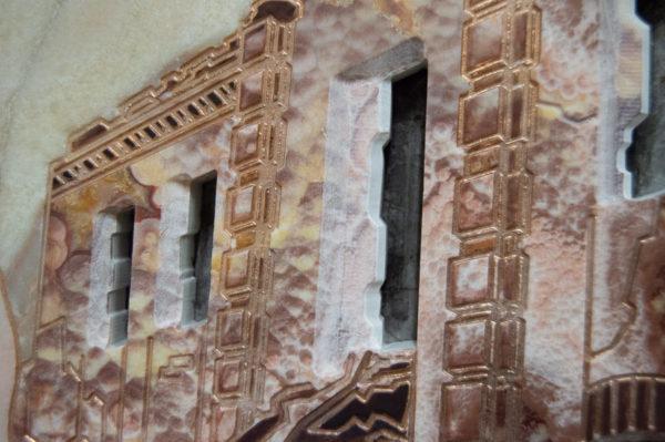 Каменная Картина Оммаж духовному дому отца Шагала № 02, изображение, фото 9