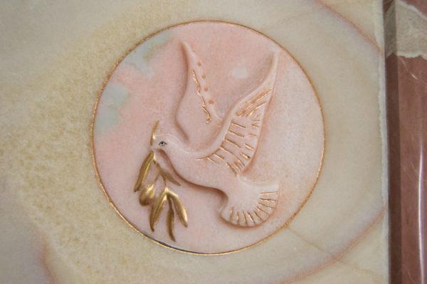Каменная Картина Оммаж духовному дому отца Шагала № 02, изображение, фото 11