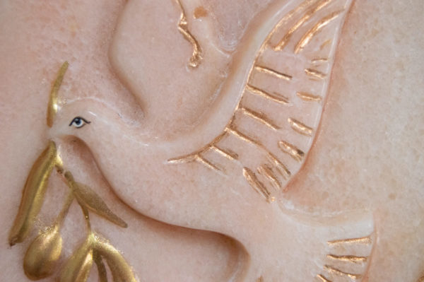 Каменная Картина Оммаж духовному дому отца Шагала № 02, изображение, фото 12
