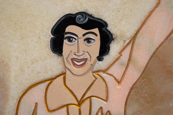 Каменная Картина Оммаж духовному дому отца Шагала № 02, изображение, фото 14