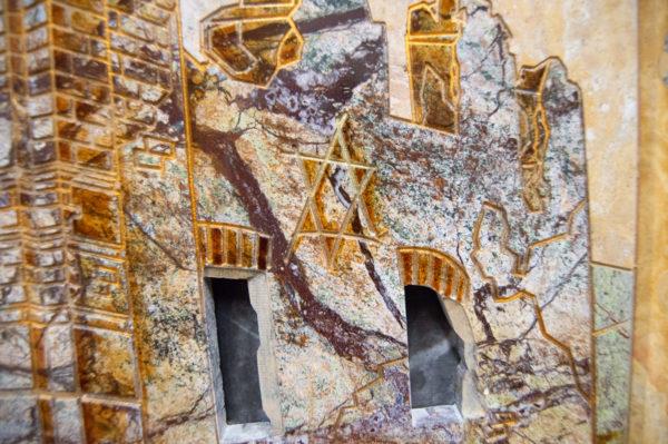 Каменная Картина Оммаж духовному дому отца Шагала № 03, изображение, фото 8