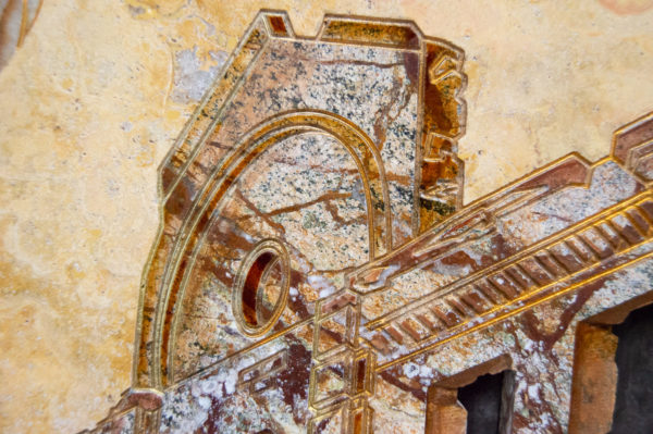 Каменная Картина Оммаж духовному дому отца Шагала № 03, изображение, фото 10