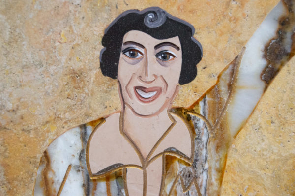 Каменная Картина Оммаж духовному дому отца Шагала № 03, изображение, фото 11
