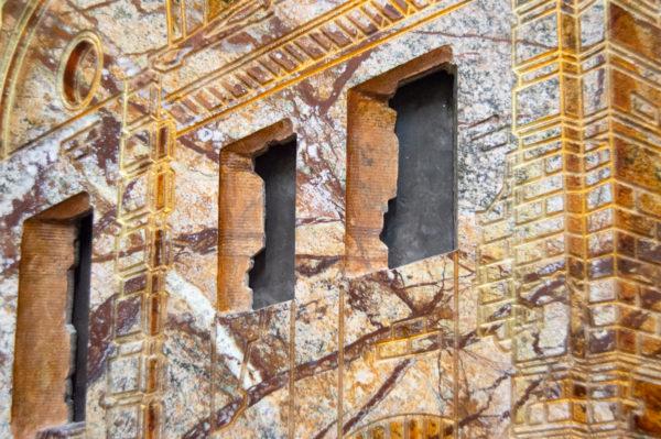 Каменная Картина Оммаж духовному дому отца Шагала № 03, изображение, фото 12