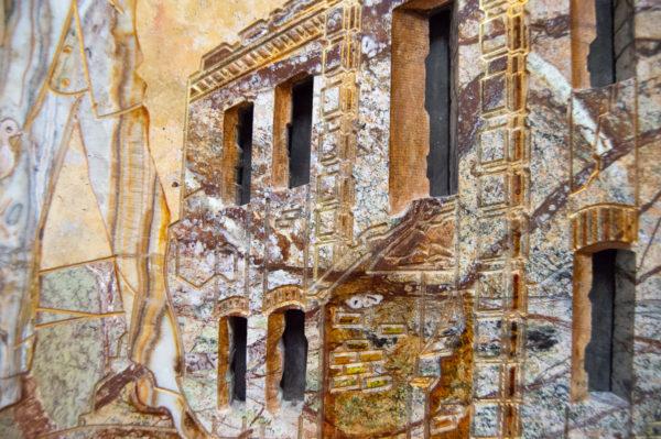 Каменная Картина Оммаж духовному дому отца Шагала № 03, изображение, фото 14
