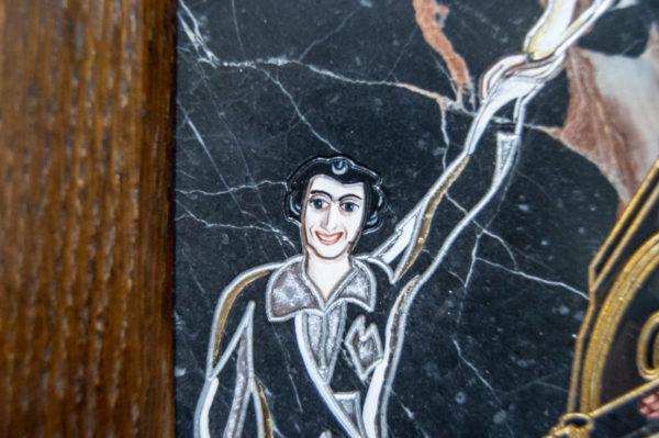 Каменная Картина Оммаж духовному дому отца Шагала № 02 (гравированная), изображение, фото 12