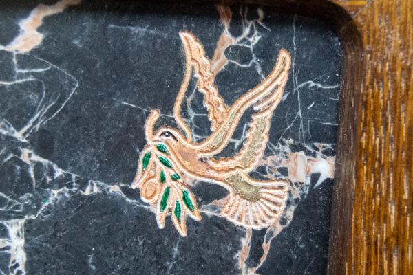 Каменная Картина Оммаж духовному дому отца Шагала № 02 (гравированная), изображение, фото 13