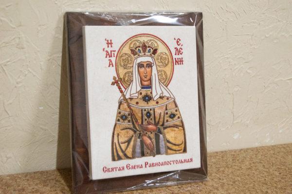 Сувенир Икона Святой Елена № 01 на мраморе, каталог икон, фото 4
