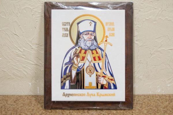 Икона Луки Крымского № 02 на мраморе, сувенир, каталог икон, фото 1