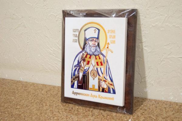 Икона Луки Крымского № 02 на мраморе, сувенир, каталог икон, фото 2