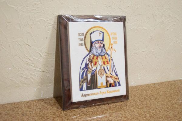 Икона Луки Крымского № 02 на мраморе, сувенир, каталог икон, фото 3