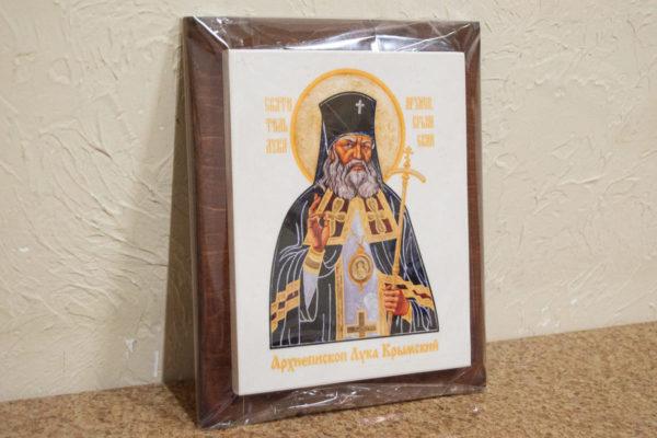 Икона Луки Крымского № 01 на мраморе, сувенир, каталог икон, фото 4
