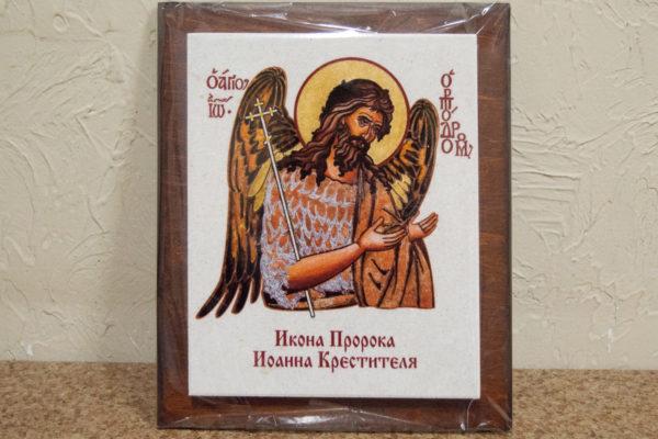Сувенир Икона Святого Иоанна № 01 на мраморе, каталог икон, фото 2