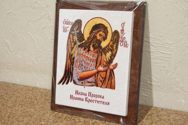 Сувенир Икона Святого Иоанна № 01 на мраморе, каталог икон, фото 3