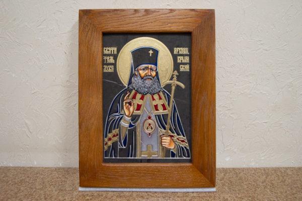 Икона Луки Крымского № 05 из мрамора, камня, каталог икон, фото 1